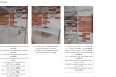 Оформление прайс-листа на элементы гардеробной системы
