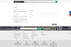 """Оформленная страница """"Контакты"""" и Footer (Подвал) сайта"""