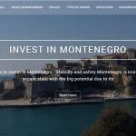 Дизайн баннера для сайта инвестиционных проектов в Черногории